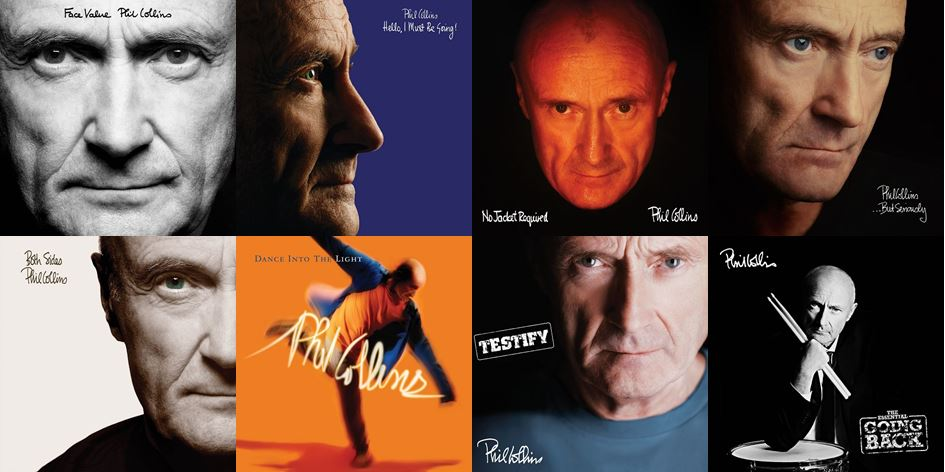 PhilCollinsAlbumCollage