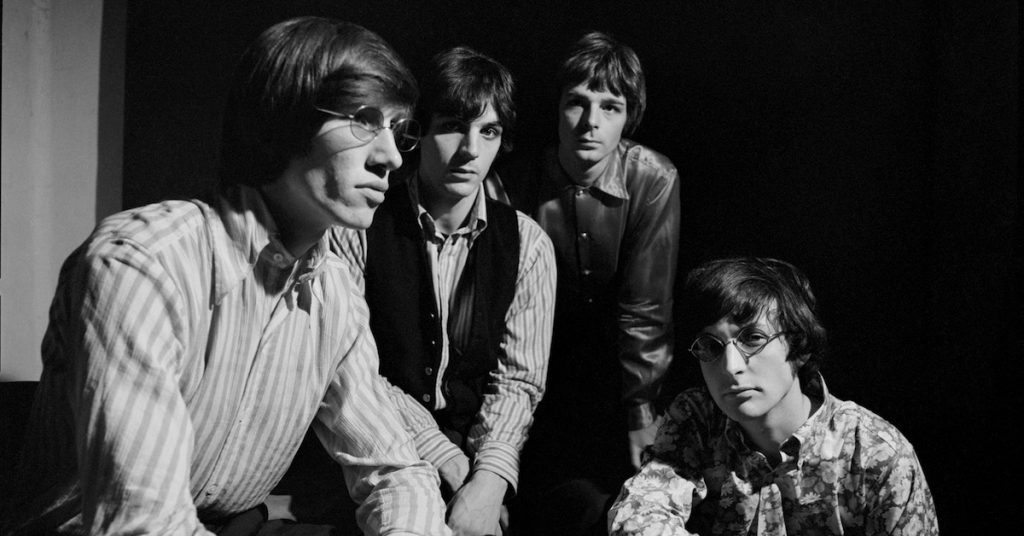 An early Pink Floyd promotional photo, courtesy of Legacy Recordings