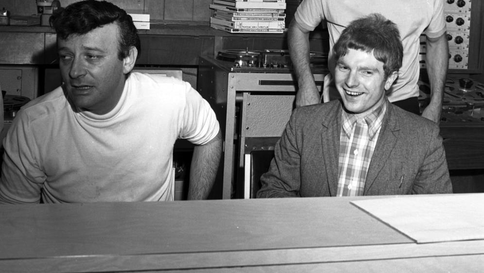 Berns and Morrison (Source: Bang! The Bert Berns Story Facebook page)