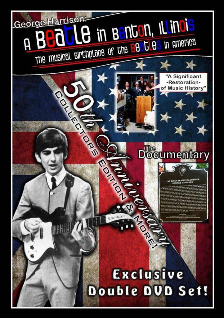 George Harrison Beatle in Benton Illinois