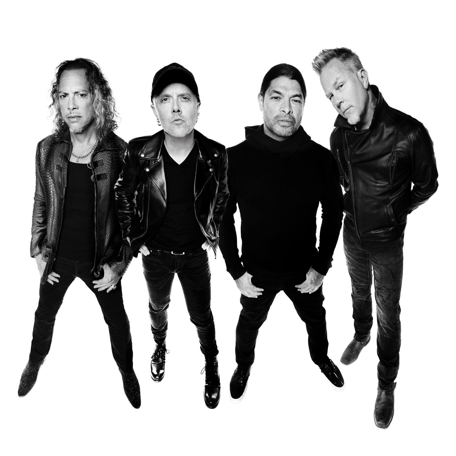 Metallica FB Aug 2016