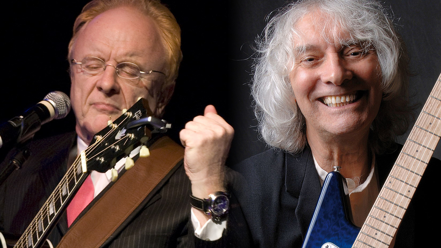 Peter Asher (L) and Albert Lee