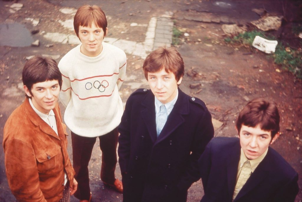 """From memory, this was taken on an old bombsite somewhere near Lugdate around 1966."" – Kenney Jones (via the Small Faces Facebook page)"