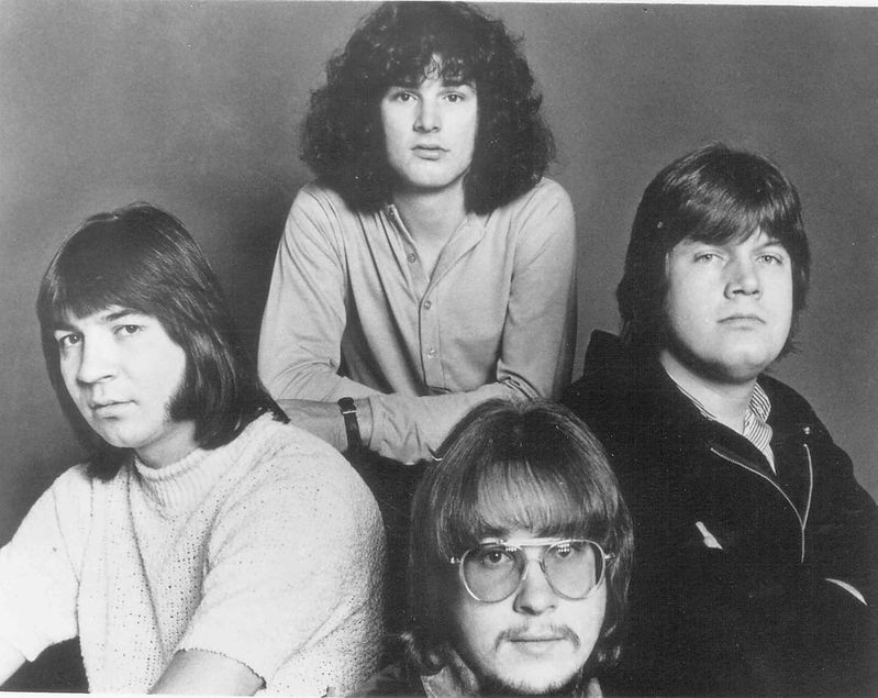 An early promo photo of the Guess Who