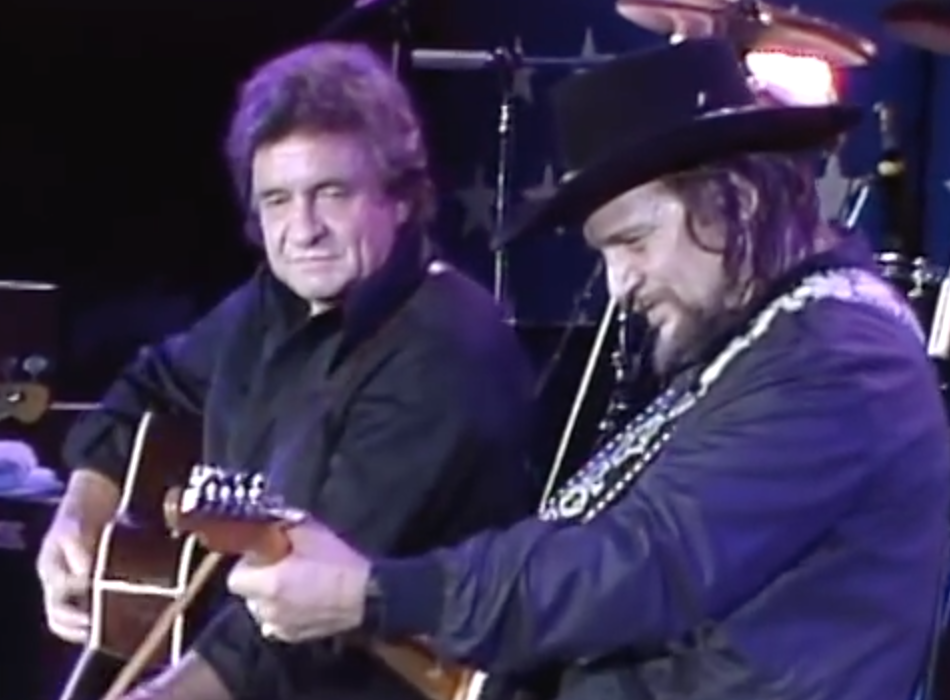 farm-aid-1985-johnny-cash-waylon-jennings