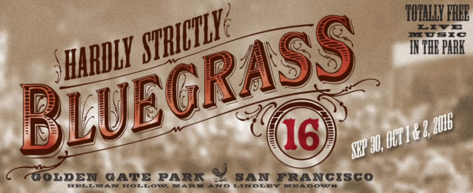 Hardly Strictly Bluegrass Festival 2016 Logo