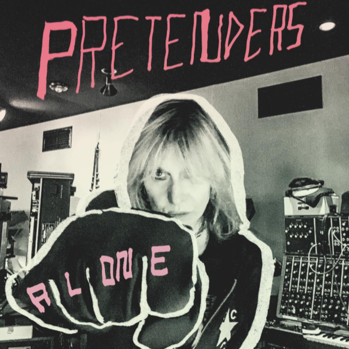 Pretenders Alone LP