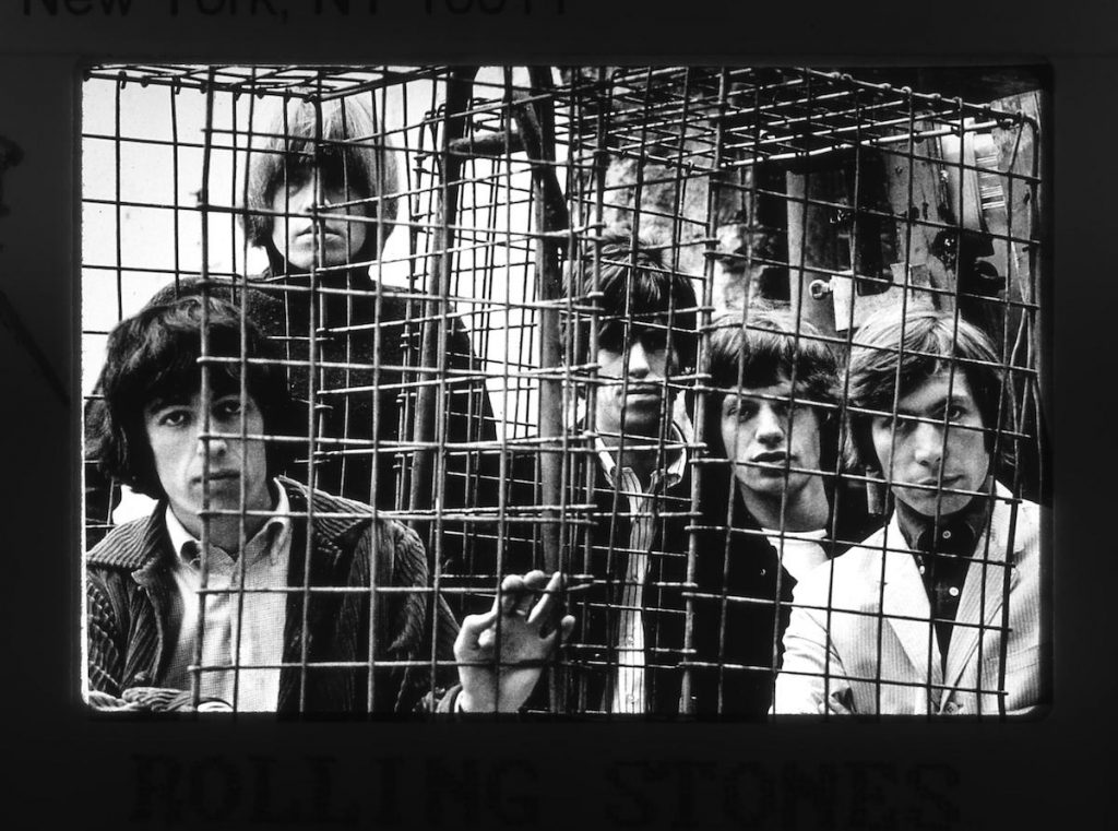 The Rolling Stones in the mid-'60s (Photo © Terry O'Neill/Iconic Images 2016)