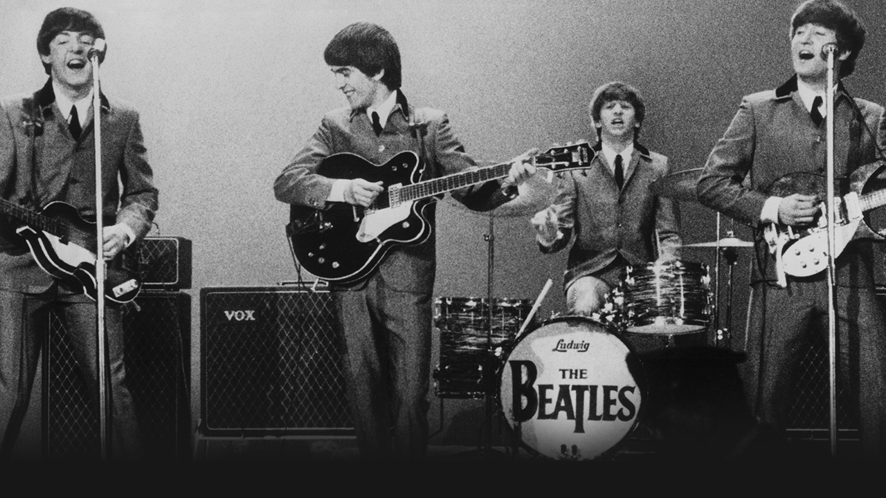 The Beatles at the Washington Coliseum Feb 1964, courtesy of Apple Corps Ltd