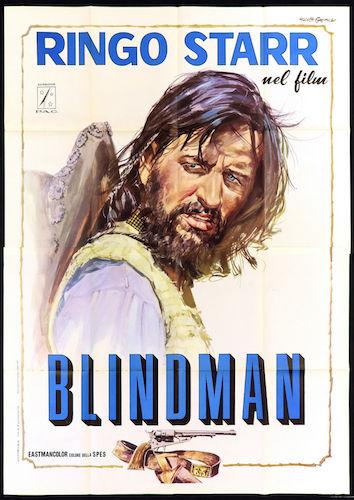 Blindman promotional poster