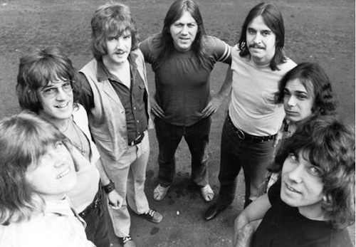 Chicago in 1970 (photo from the band's website)