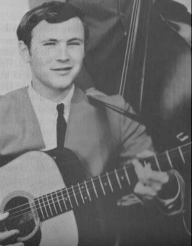 David Crosby in the early '60s