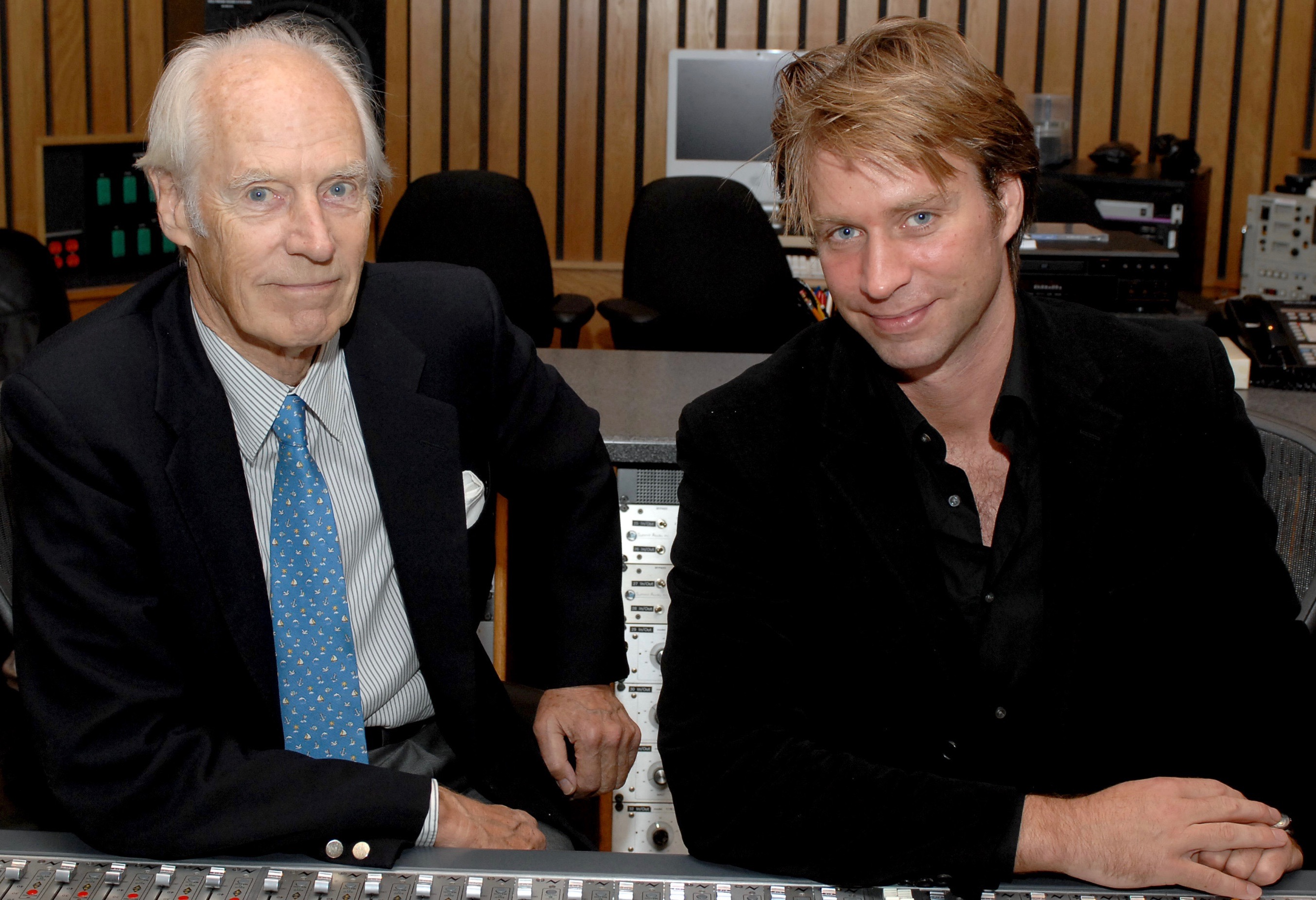 George Martin and Giles Martin (Photo: Capitol Photo Archives/UMG. Used with permission.)