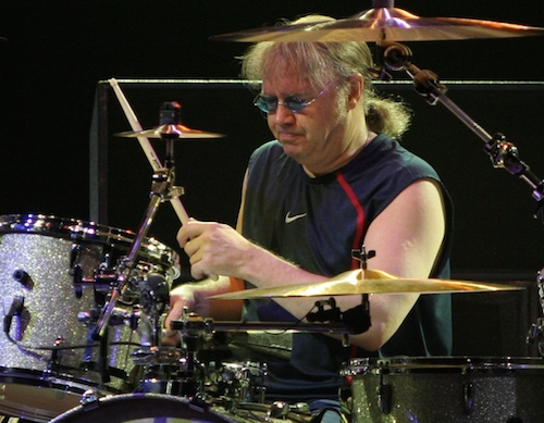 Deep Purple's Ian Paice (Photo from his Wikipedia page)
