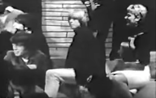 Mick Jagger and Brian Jones digging Howlin' Wolf on Shindig! in 1965