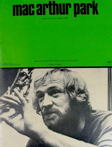"Sheet music for Richard Harris' version of ""MacArthur Park"""