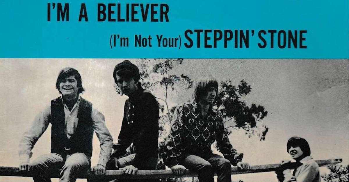 October 15 1966 Monkees Record Im A Believer Best Classic Bands