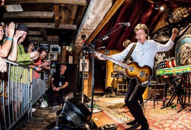 Paul McCartney's Surprise 300-Seat Club Gig: 2016