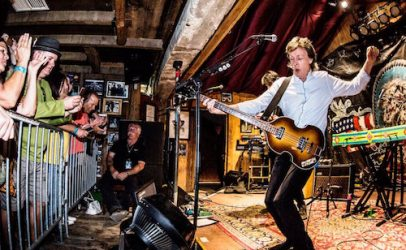 Paul McCartney's Surprise 300-Seat Club Gig: 2016