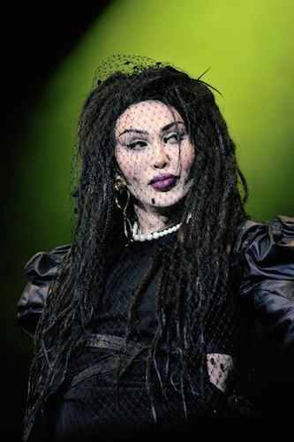 Pete Burns in a promo photo on his Wikipedia page