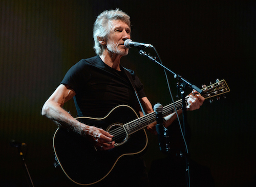 Roger Waters at Desert Trip, October 9, 2016 in Indio, California. (Photo by Kevin Mazur/Getty Images for Desert Trip)