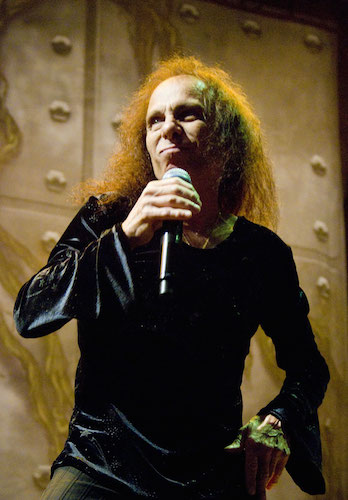 Ronnie James Dio (from his Wikipedia page)