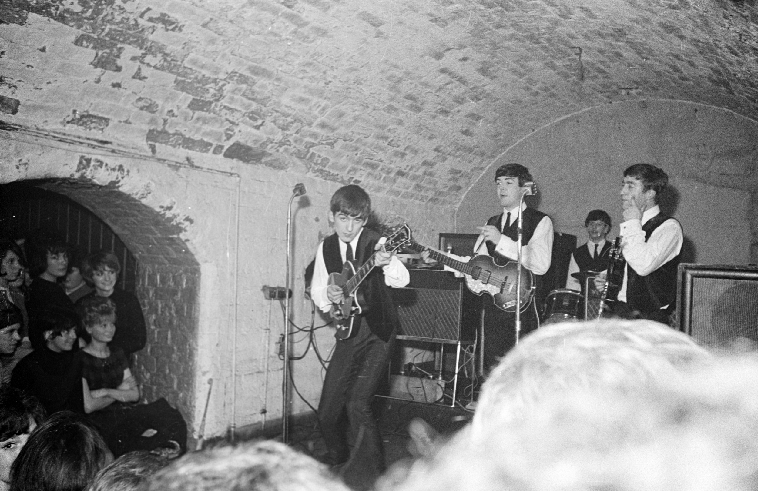 THE BEATLES MAKE THEIR FINAL APPEARANCE AT THE CAVERN IN LIVERPOOL ...