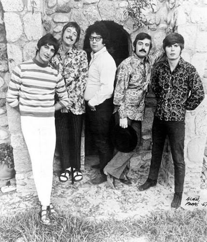 The Turtles in an early promo photo (from Howard Kaylan's Facebook page)
