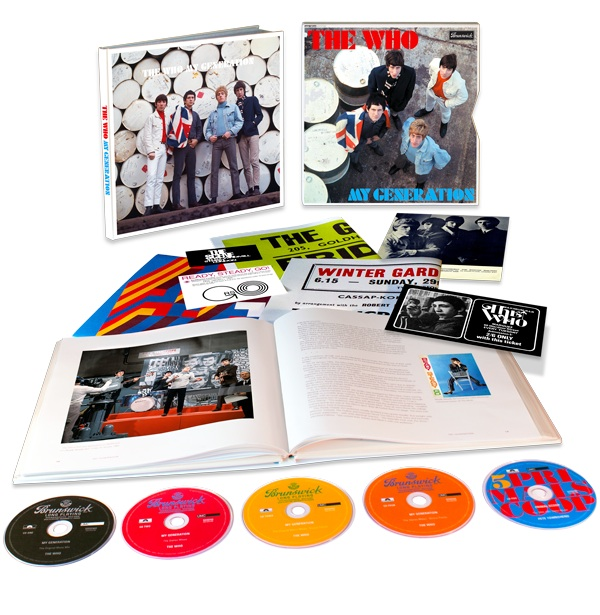 The Who's 'My Generation' Super Deluxe Edition package