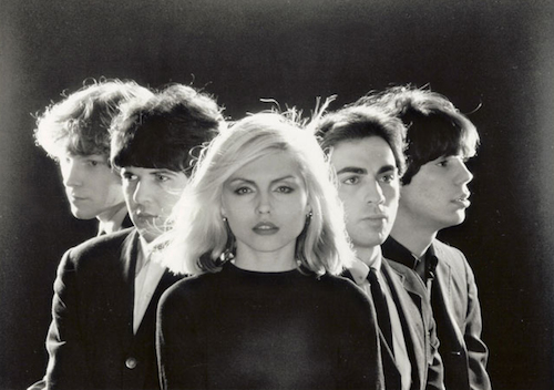 Blondie in an early publicity photo