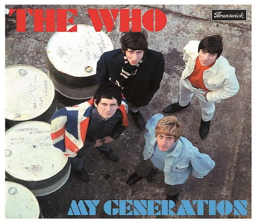 The English edition of the Who's debut album