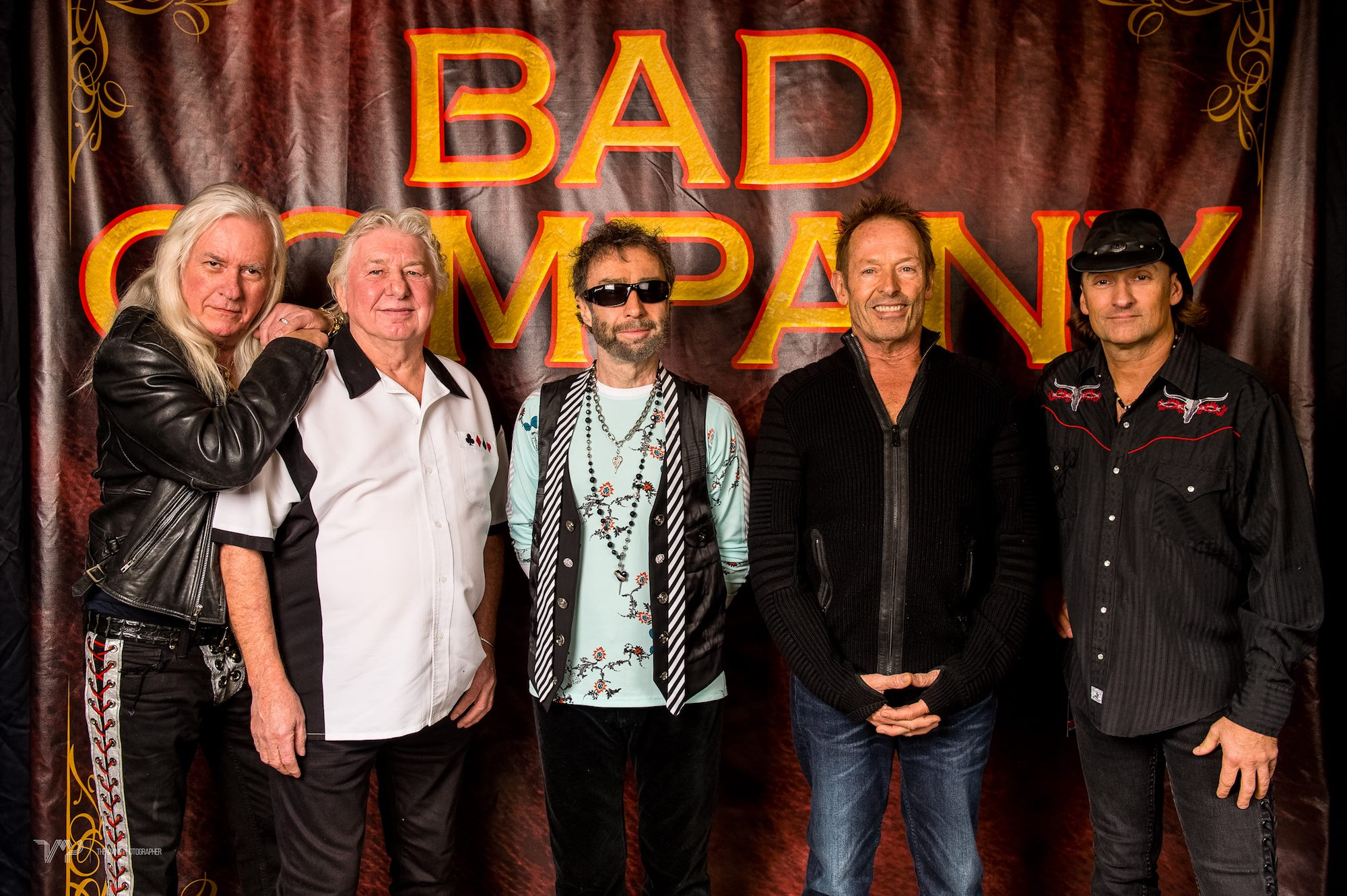 Bad Company Fall 2016 lineup: Howard Leese, Mick Ralphs, Paul Rodgers, Simon Kirke and Todd Ronning. (Photo via their Facebook page)