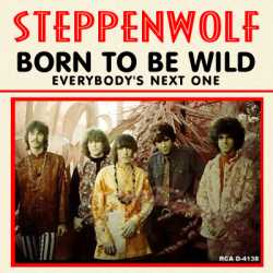 """Born to Be Wild"" picture sleeve"