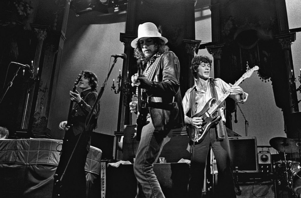 dylan the band last waltz