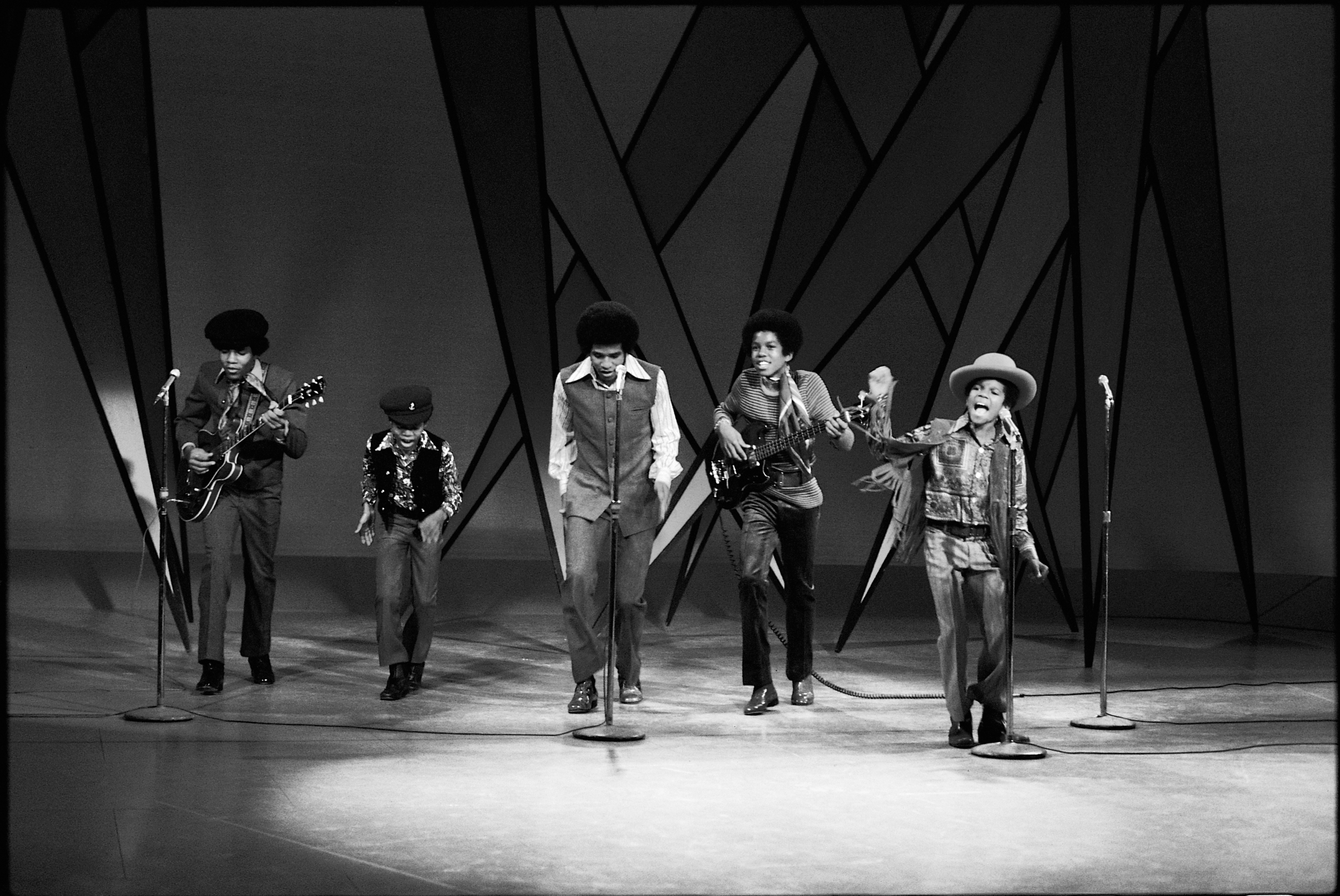The Jackson 5 make their first appearance on The Ed Sullivan Show in NYC, December 14 1969. (Photo via Motown Records Archives via EMI Archive Trust and Universal Music Group. Used with permission)