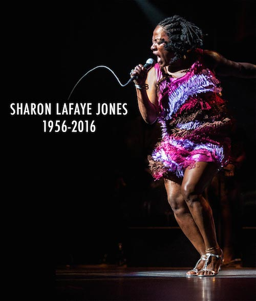 Sharon Jones (Photo from her website)