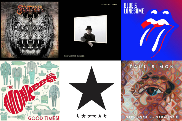 2016 in Review: New Albums by Classic Rockers | Best Classic