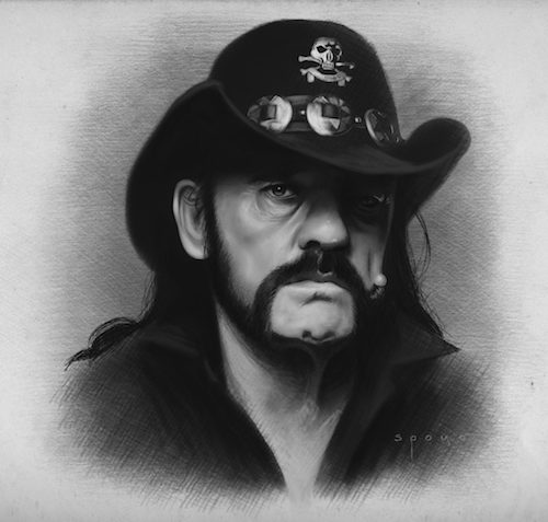 Motörhead's Lemmy Kilmister (from his Facebook page)