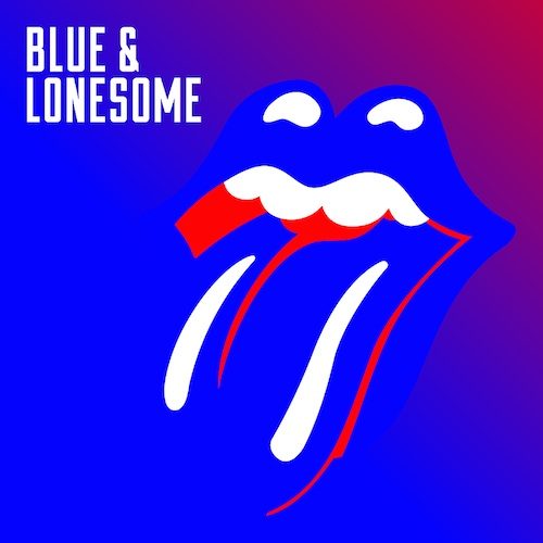 The Rolling Stones' Blue & Lonesome album cover