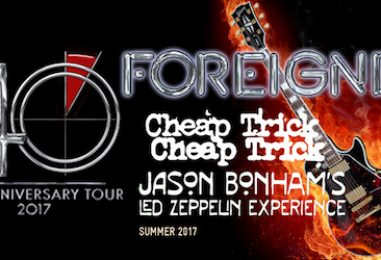 Foreigner 40th Anniversary Tour With Cheap Trick, Bonham