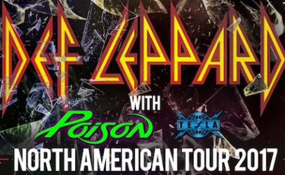 Def Leppard to Tour With Poison, Tesla