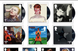 Jan. 25, 2017: David Bowie Honored With Royal Mail Stamps