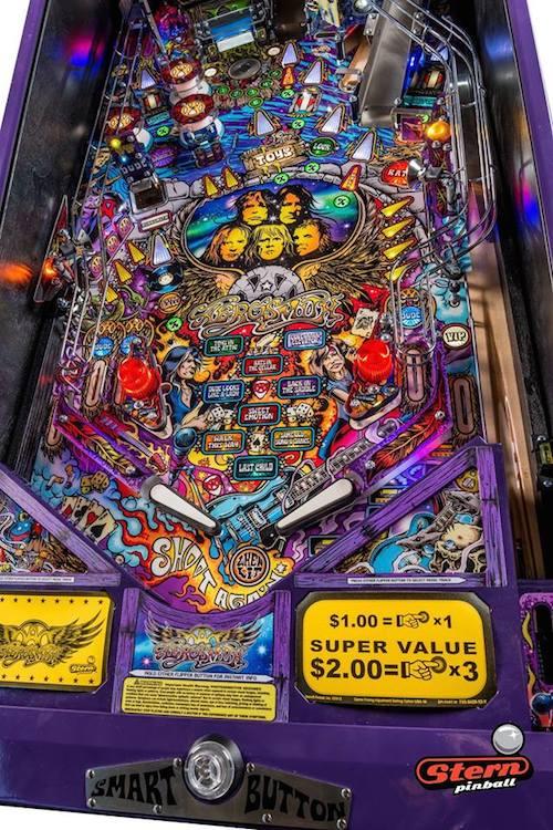 Aerosmith Pinball Machines on the Way   Best Classic Bands