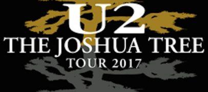 U2 Adds to Joshua Tree Tour 2017
