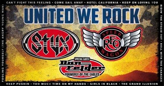 Styx Setlist United We Rock Tour