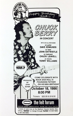 Chuck berry piss video pity, that