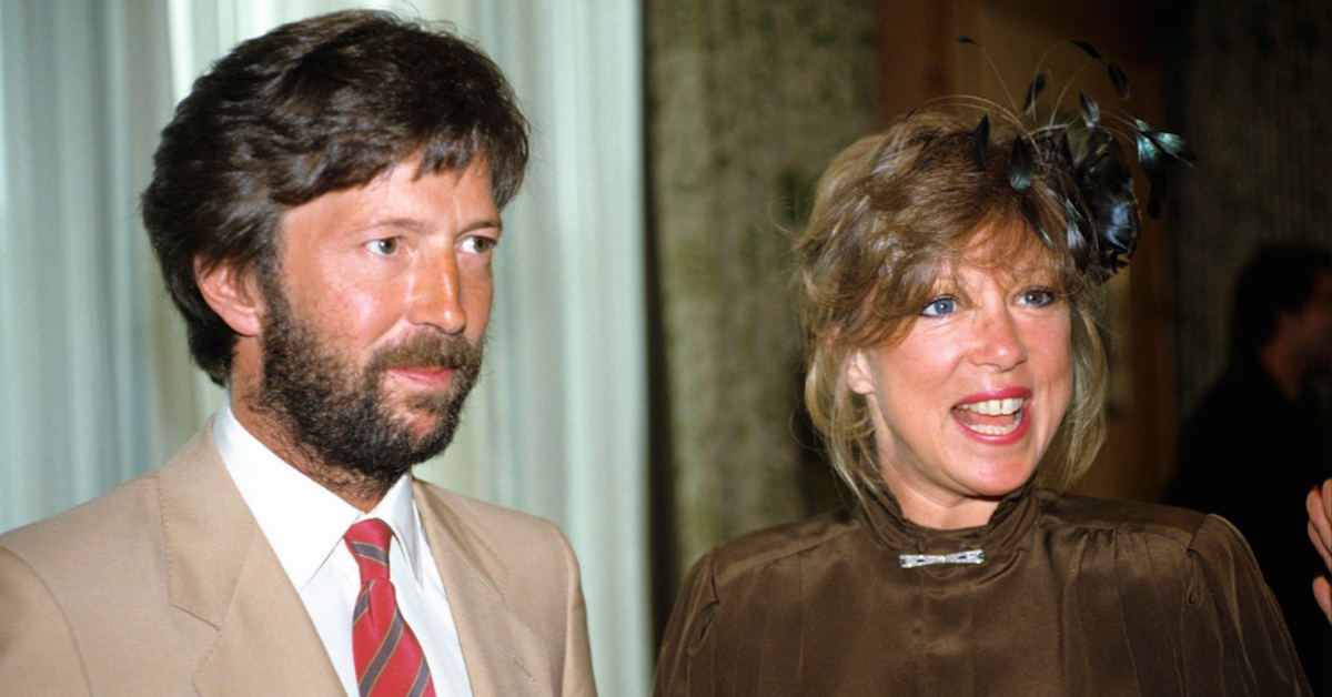 March 27 1979 Eric Clapton Marries Pattie Boyd