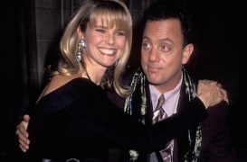 March 23, 1985: Billy Joel & Christie Brinkley Wed