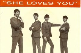 March 21, 1964: Beatles 'She Loves You' Hits #1