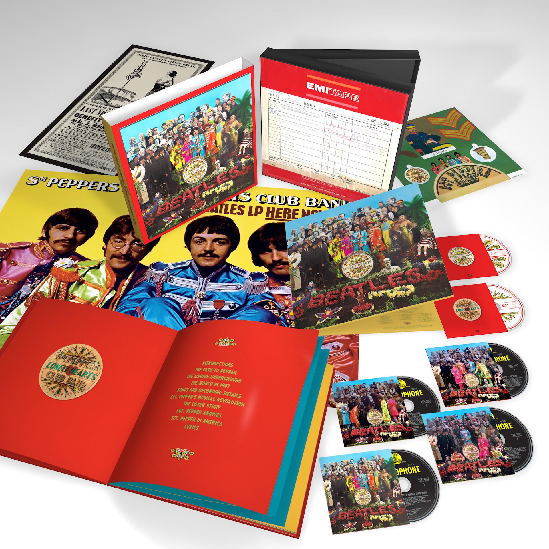 Sgt Pepper Album Cover Here Lies Paul